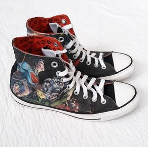 Converse Hightop Justice League size M7/W9